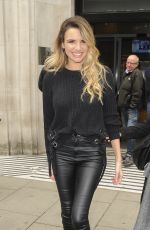 NADINE COYLE Leaves BBC Radio 2 in London 10/10/2017