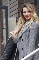 NADINE COYLE Leaves ITV Studios in London 10/10/2017