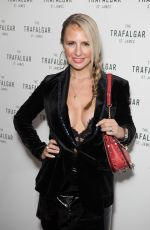 NAOMI ISTED at Trafalgar St James Launch Party in London 10/18/2017
