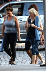 NAOMI WATTS Leaves Yoga Class in New York 10/01/2017