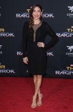 NATALIA CORDOVA-BUCKLEY at Thor: Ragnarok Premiere in Los Angeles 10/10/2017