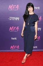 NATALIA LEITE at M.F.A. Screening in Los Angeles 10/02/2017