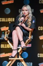 NATALIE ALYN LIND at The Gifted Panel at New York Comic-con in New York 10/08/2017