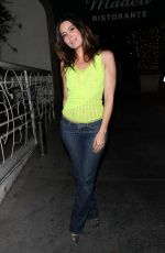 NATALIE DENISE SPERL at Madeo Restaurant in West Hollywood 10/03/2017