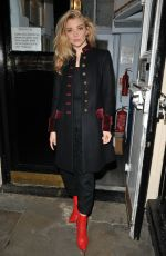 NATALIE DORMER Leaves Haymarket Theatre in London 10/21/2017