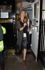 NATALIE DORMER Night Out in London 10/16/2017