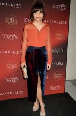 NATALIE MORALES at People's Ones to Watch Party in Los Angeles 10/04/2017