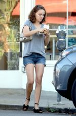 NATALIE PORTMAN Out and About in Los Angeles 10/26/2017