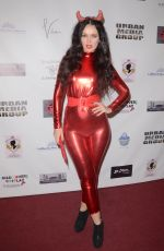 NATASHA BLASICK at Halloween Hotness 4: Heating Up for the Cure in Hollywood 10/15/2017