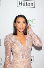 NAYA RIVERA at Point Honors Gala in Los Angeles 10/07/2017