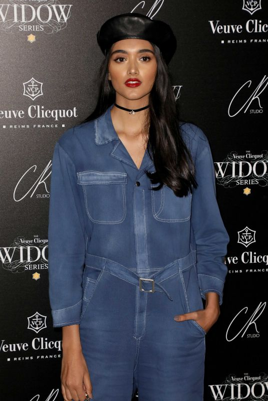 NEELAM GILL at Veuve Clicquot Widow Series VIP Launch Party in London 10/19/2017