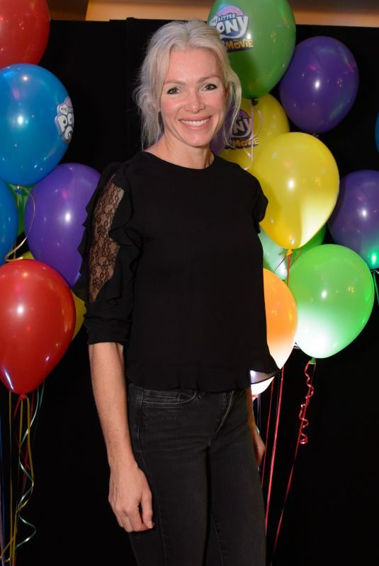 NELL MCANDREW at My Little Pony The Movie Premiere in London 10/15/2017