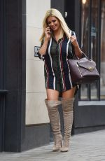 NICOLA MCLEAN Out and About in London 10/10/2017