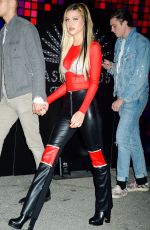 NICOLA PELTZ at Tequila Casamigos Halloween Bash in Los Angeles 10/27/2017