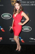 NICOLA POSENER at Bafta Los Angeles Britannia Awards in Los Angeles 10/27/2017