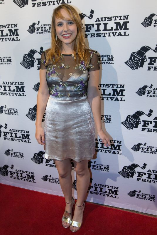 NICOLE ELLIOTT at Amanda and Jack Go Glamping Premiere at Austin Film Festival 10/29/2017