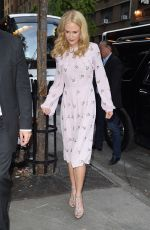 NICOLE KIDMAN Arrives at The Killing of a Sacred Deer Press Event in New York 10/21/2017