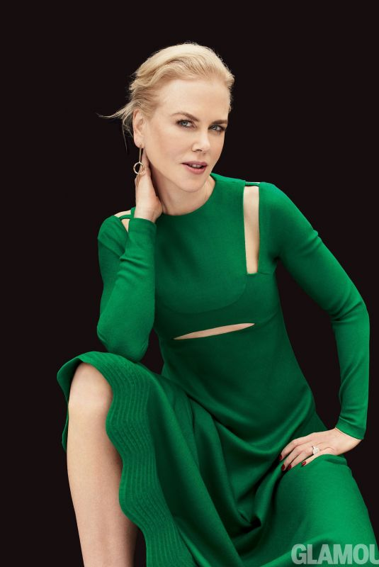 NICOLE KIDMAN for Glamour Magazine, Women of the Year Issue, December 2017