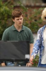 NICOLE KIDMAN on the Set of Boy Erased in Atlanta 10/29/2017