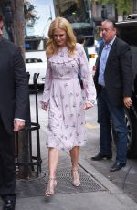 NICOLE KIDMAN Out and About in New York 10/21/2017