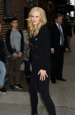 NICOLE KIDMAN Out and About in New York 10/23/2017