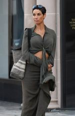 NICOLE MURPHY Leaves a Hotel in Beverly Hills 10/07/2017