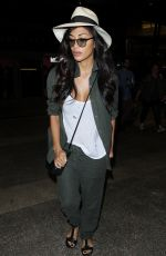 NICOLE SCHERZINGER at Los Angeles International Airport 10/06/2017