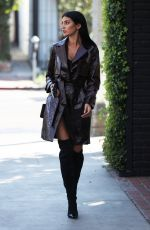 NICOLE WILLIAMS Shopping at Balmain in West Hollywood 10/27/2017