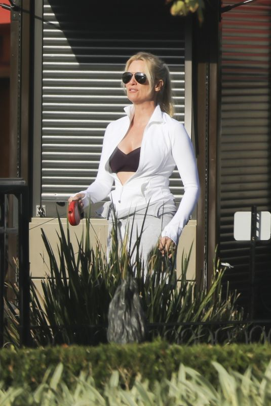 NICOLLETTE SHERIDAN Out and About in Calabasas 10/20/2017
