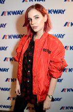 NIKITA ANDRIANOVA at K-Way Flagship Store Opening in London 10/04/2017