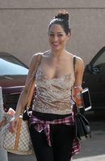 NIKKI BELLA Arrives at a Dance Practice in Los Angeles 10/28/2017