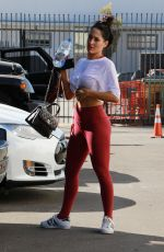 NIKKI BELLA Leaves DWTS Studio in Los Angeles 10/24/2017