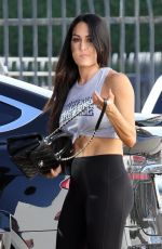 NIKKI BELLA Out and About in Los Angeles 10/25/2017