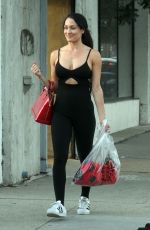 NIKKI BELLA Out in Los Angeles 10/15/2017