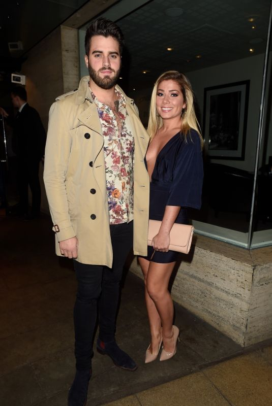 NIKKI SANDERSON and Greg Whitehirst at Restaurant Bar and Grill in Manchester 10/14/2017