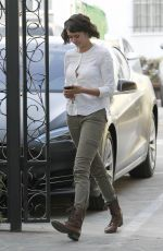 NINA DOBREV at Nine Zero One Salon in West Hollywood 10/17/2017