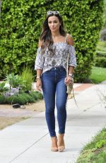 OCTOBER GONZALEZ Out and About in Beverly Hills 09/29/2017