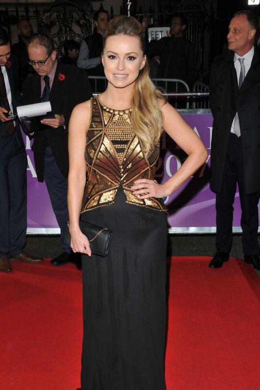 OLA JORDAN at Pride of Britain Awards 2017 in London 10/30/2017