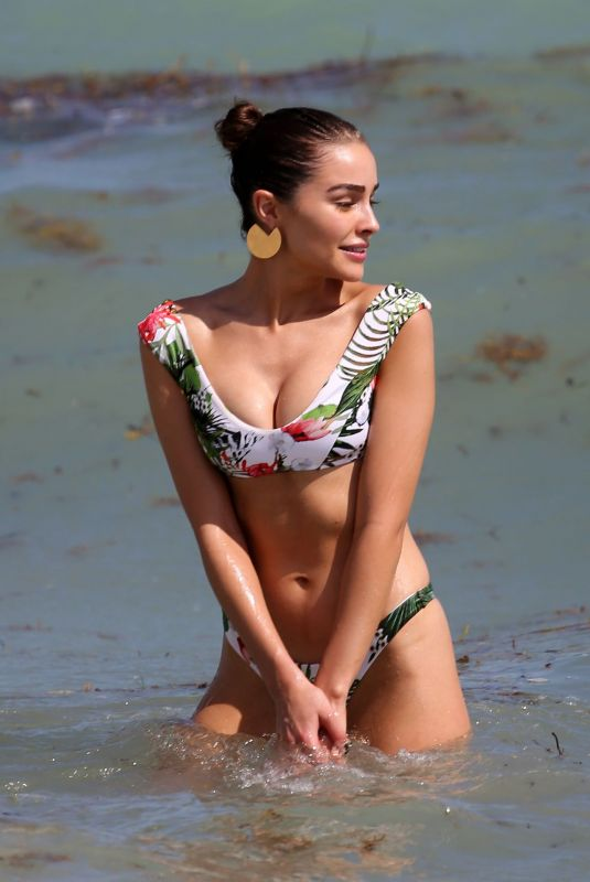 OLIVIA CULPO in Bikini at a Set of a Photoshoot in Miami 10/20/2017
