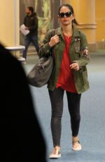 OLIVIA MUNN Arrives at Airport in Vancouver 10/01/2017