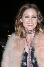 OLIVIA PALERMO Arrives at Night of Stars Gala in New York 10/26/2017