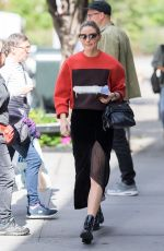 OLIVIA PALERMO Out and About in New York 10/11/2017