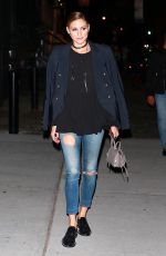OLIVIA PALERMO Out for Dinner at Bondst Restaurant in New York 10/10/2017