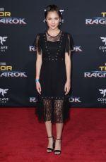 OLIVIA RODRIGO at Thor: Ragnarok Premiere in Los Angeles 10/10/2017