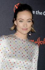 OLIVIA WILDE at 5th Annual Save the Children Illumination Gala in New York 10/18/2017