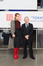 OLIVIA WILDE at Uniqlo x Toray: The Art & Science of Lifewear Event in New York 10/24/2017
