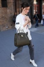 OLIVIA WILDE Leaves Her Hotel in New York 10/02/2017