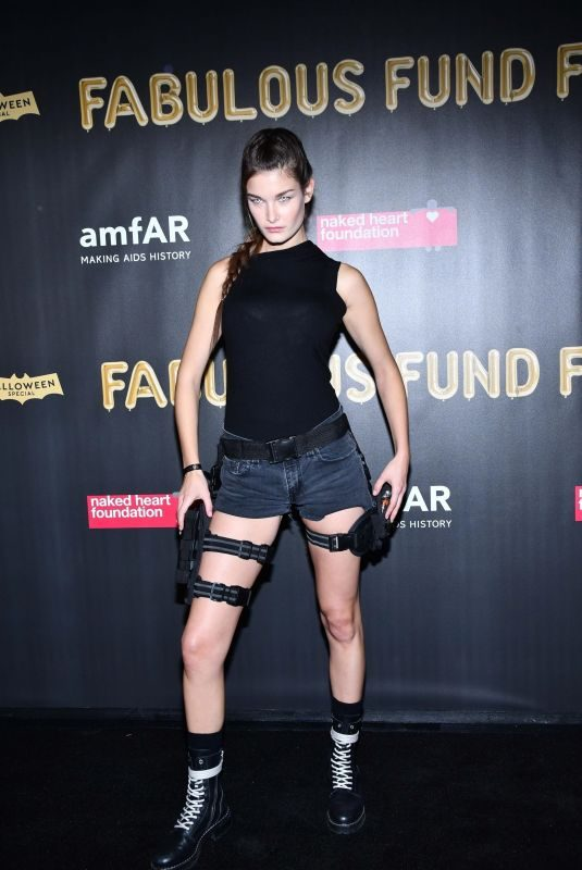 OPHELIE GUILLERMAND at 2017 Amfar Fabulous Fund Fair in New York 10/28/2017