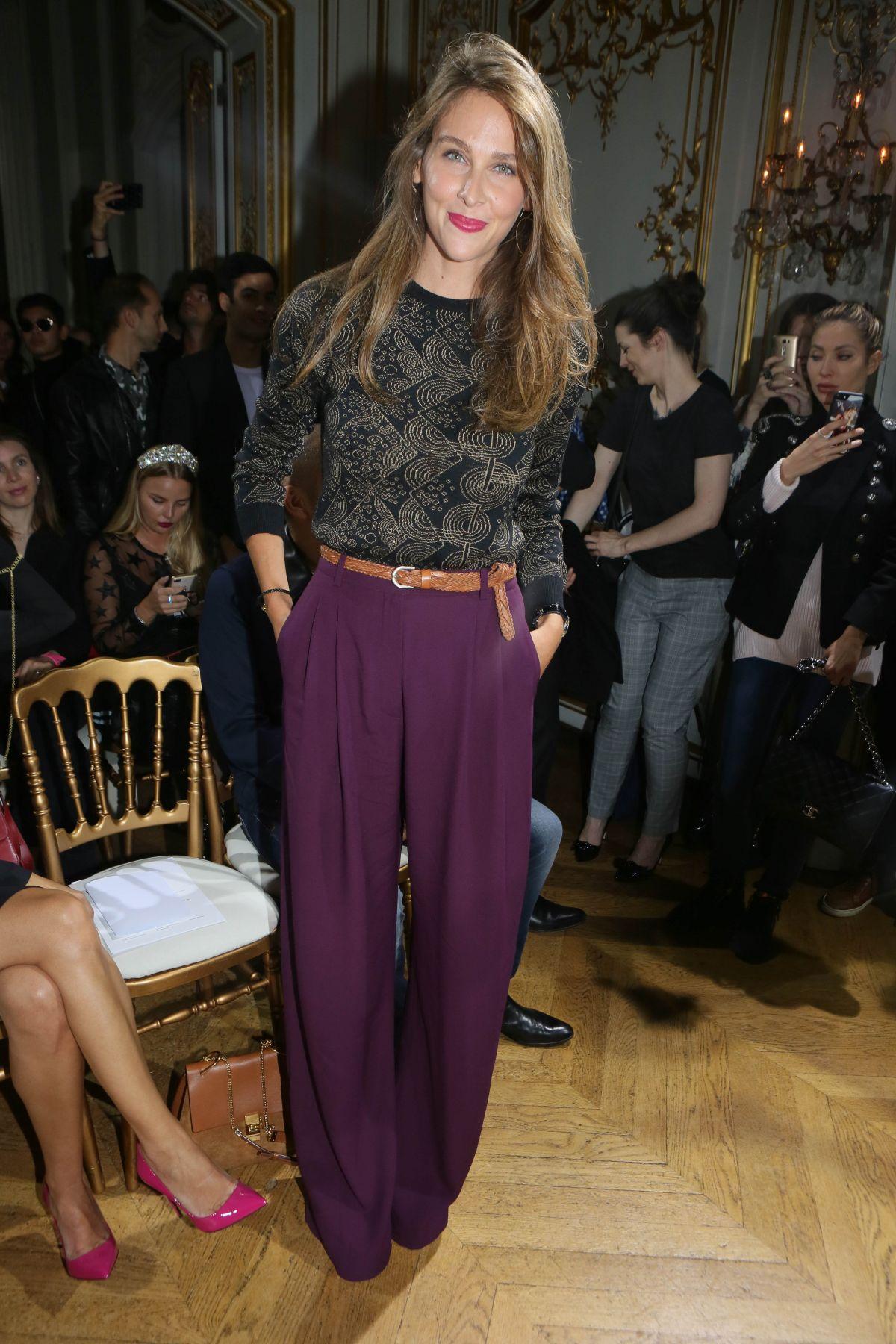 Ophelie meunier john galliano fashion show in paris - 2019 year