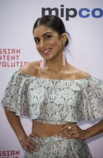 PALLAVI SHARDA at Mipcom Opening Cocktail in Cannes 10/16/2017